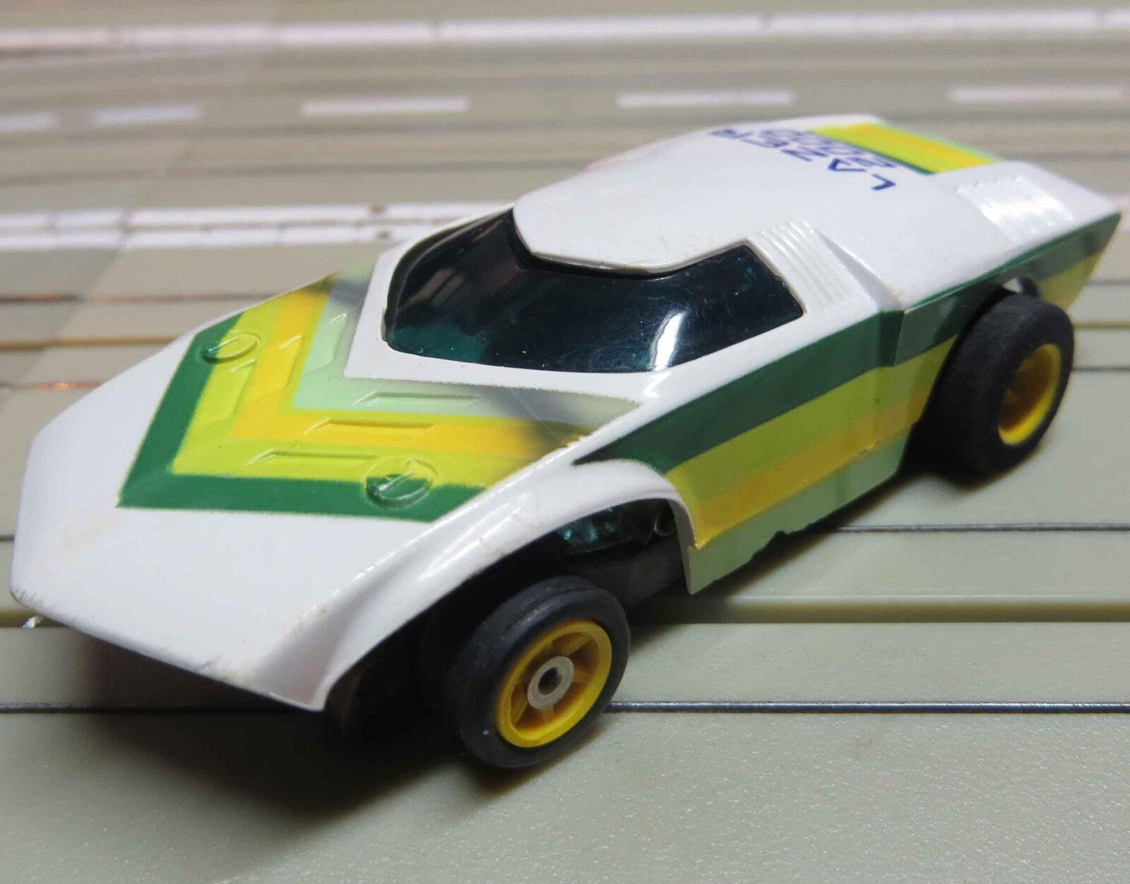 Para H0 Coche Slot Racing Maqueta de Tren Lazer con G-Plus Chasis
