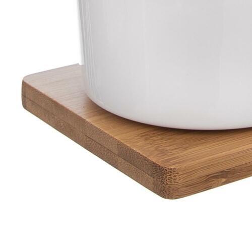 ORION Zuckerdose Milchkännchen Holzständer SET