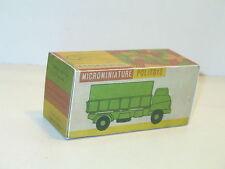 n109, BOITE POLITOYS,  camion 3 tonnes , N4 militaire