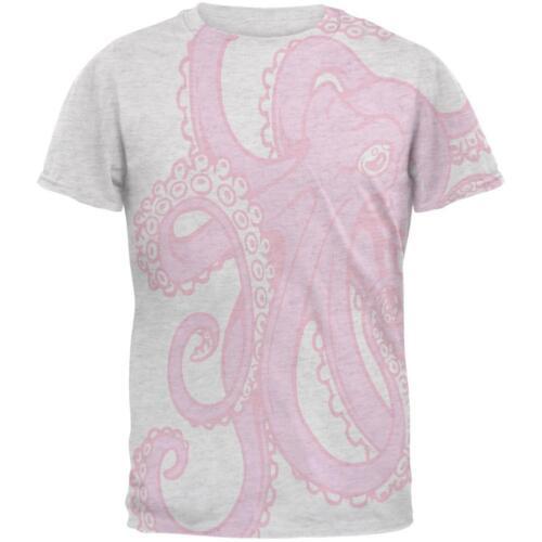 Pink Octopus Ink Mens T Shirt