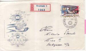 CSSR Tschechoslowakei Nr. 1361  FDC Federation International de Ohilatelie FIP