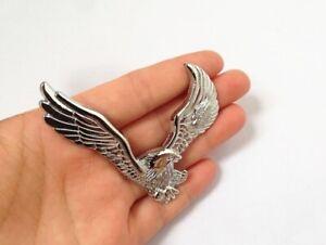 Harley-Davidson-Eagle-Motorcycle-3D-Metal-Emblem-Logo-Chrome-Brand-New