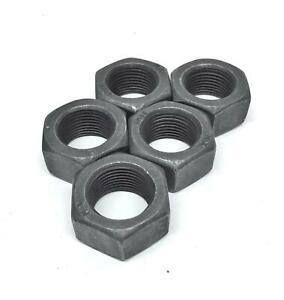 Unbranded-Generic-3-4-034-ID-Black-Oxide-Coated-Hex-Nut-Lot-of-5-NOS