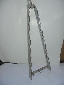 Metallobjekte Schlussverkauf 27806 Emaille Enamel Grau Grey Granit Topfdeckelhalter Für 8 60cm Pot Lid Holder Klar Und Unverwechselbar Emailwaren