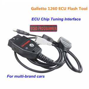 Details about OBD2 EOBD ECU Flasher Chip Programmer Read Write Tuning Cable