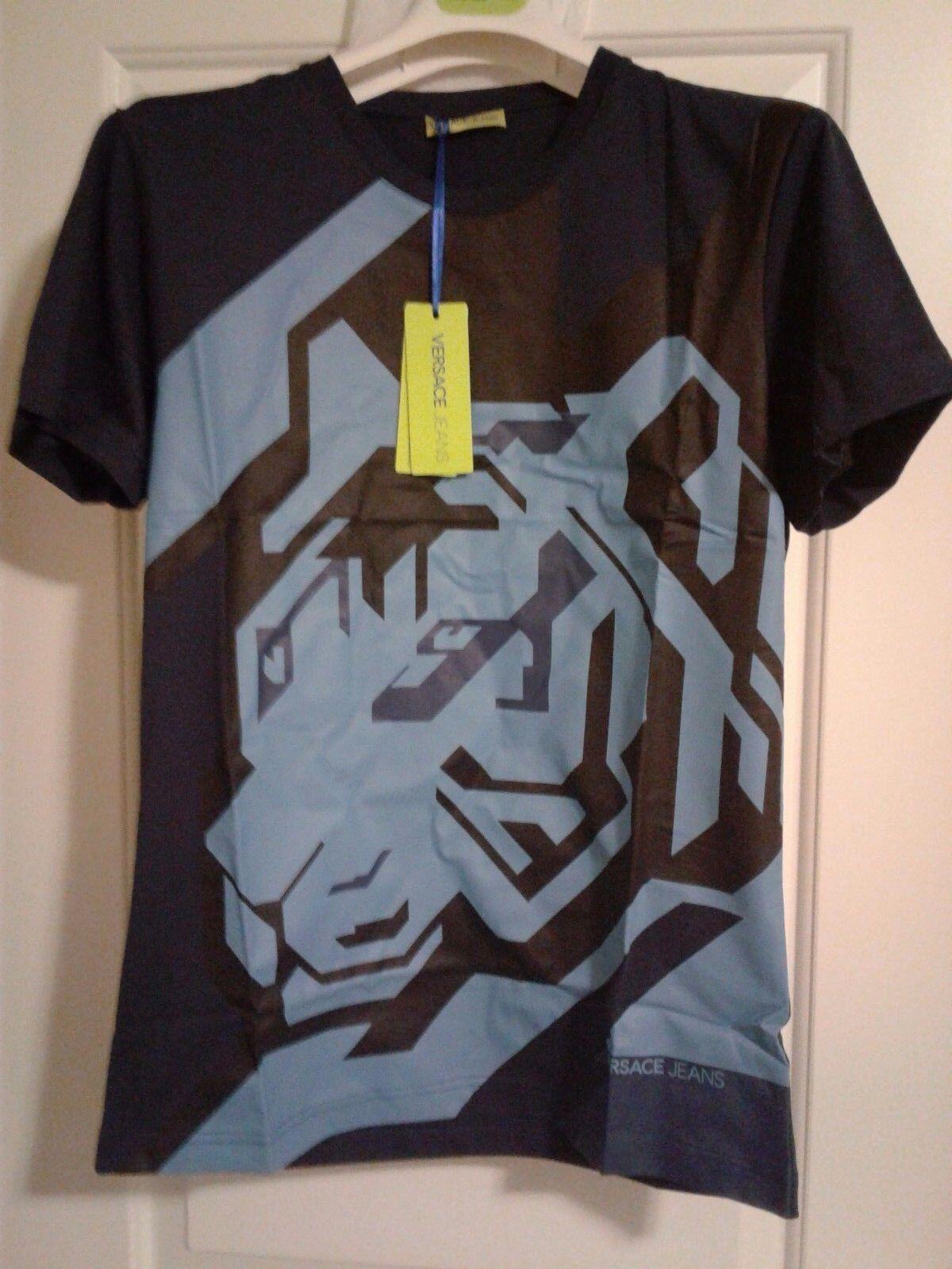 Authentic 3 D Versace Jeans  Tshirt, size M