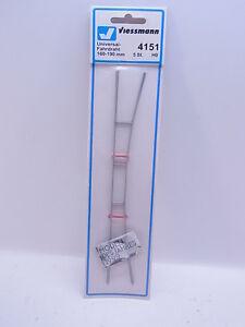 LOT 39446Viessmann 4151 Universal-Fahrdraht 5x 160-190mm HO Oberleitung NEU
