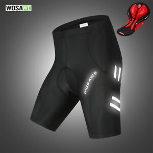 Mens-Cycling-Shorts-Gel-Padded-Breathable-Reflective-MTB-Road-Team-Bike-Shorts