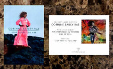 CORRINE BAILEY RAE Heart Speaks In 2016 Ltd Ed Postcards +FREE R&B Pop Stickers!