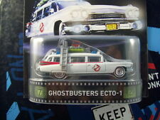 '16 HOT WHEELS GHOSTBUSTERS ECTO-1 NEW IN BOX RETRO ENTERTAINMENT