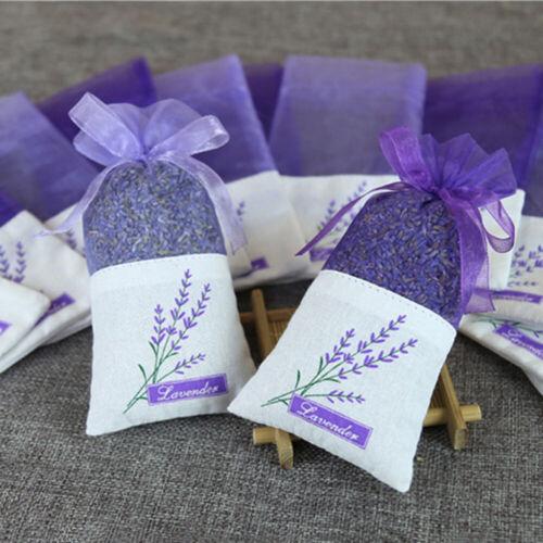 30Pcs Empty Sachet Bags Portable Lavender Fragrance Bag for Storage Seeds Spice