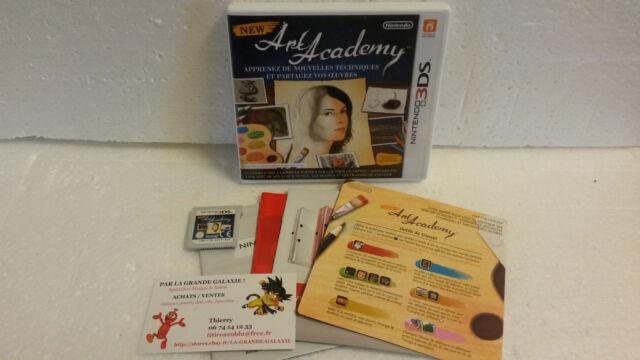 Jeu Vidéo Nintendo 3DS/2DS New Art Academy Complet VF Atelier Coaching Peinture