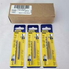 Irwin Hanson Tap and Drill Combo Set  3//8-24NF Pitch Drill Bit Letter Q HSS USA
