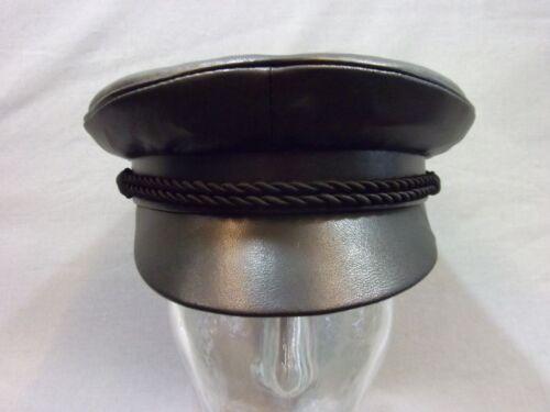 taille au choix Parapluie Bonnet dite Elbsegler casquette en cuir veritable avec cordon