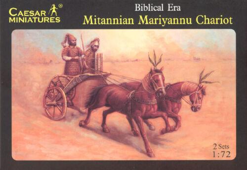 H015 Mitannian Mariyannu Chariot SOLD OUT CATALOG CAESAR MINIATURES 1//72