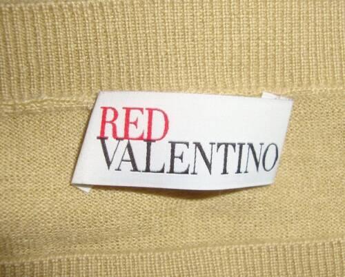 Sz con a Valentino Design lana Maglione in in fiocco lunga cashmere misto di M manica collo con FB7ZHB
