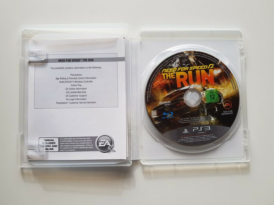 Need for speed, the run, PS3