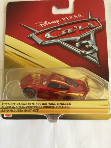 DISNEY PIXAR CARS 3-RUST-EZE RACING Center Lightning McQueen-Mattel 1:55