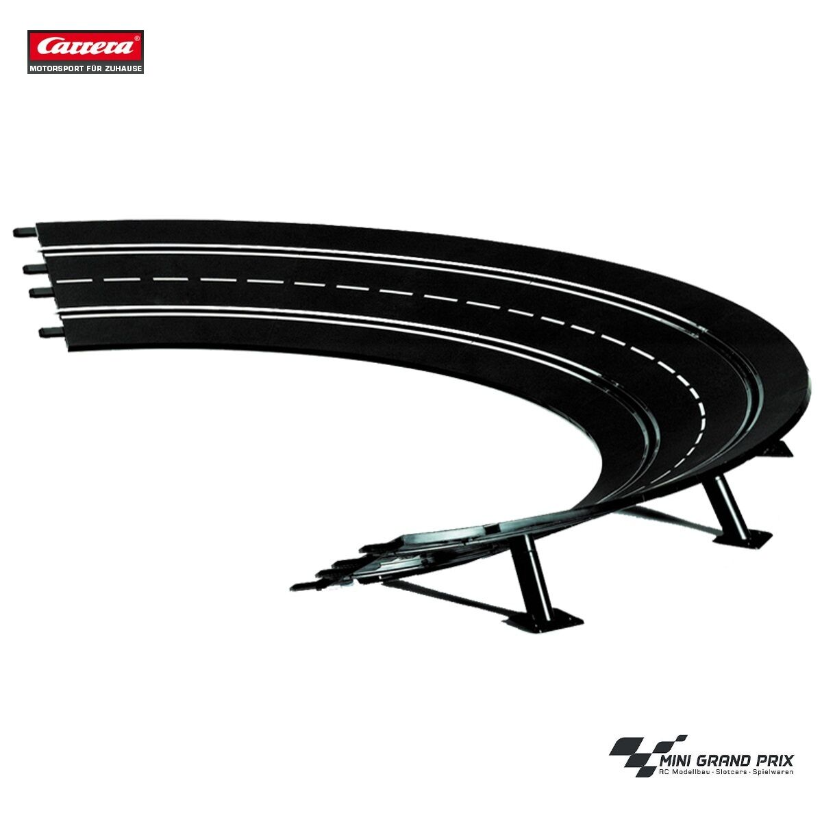Carrera Digital 132 124 Evolution Steep Curve 2 30° 20575