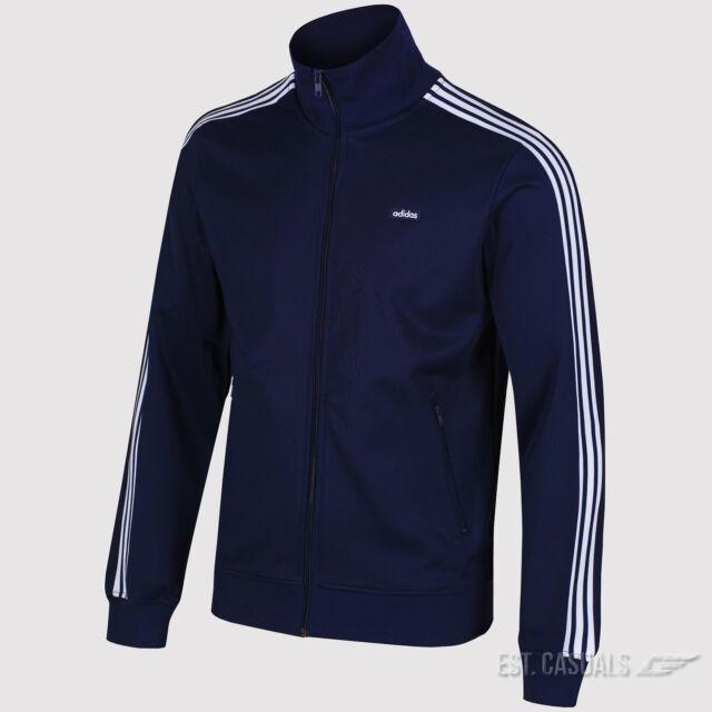 924cf535f6d1 adidas Mens Navy Beckenbauer OG TT Track Jacket Ab7766 Size L   eBay