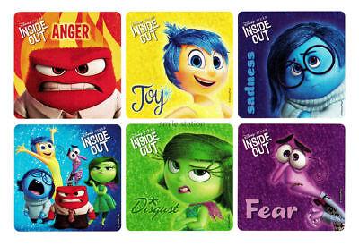 60 Disney Cars Movie Dot Stickers Kid Reward Party Goody Bag Filler Favor Supply