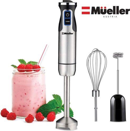 Mueller Multi-Purpose Hand Blender Ultra-Stick 500 Watt 9-Speed Immersion Mixer