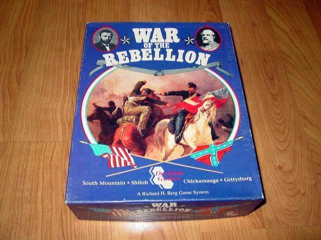 Juegos de decisión 1993-Juego de Guerra de la rebelión-Guerra Civil estadounidense  batallas 4 (UNP)