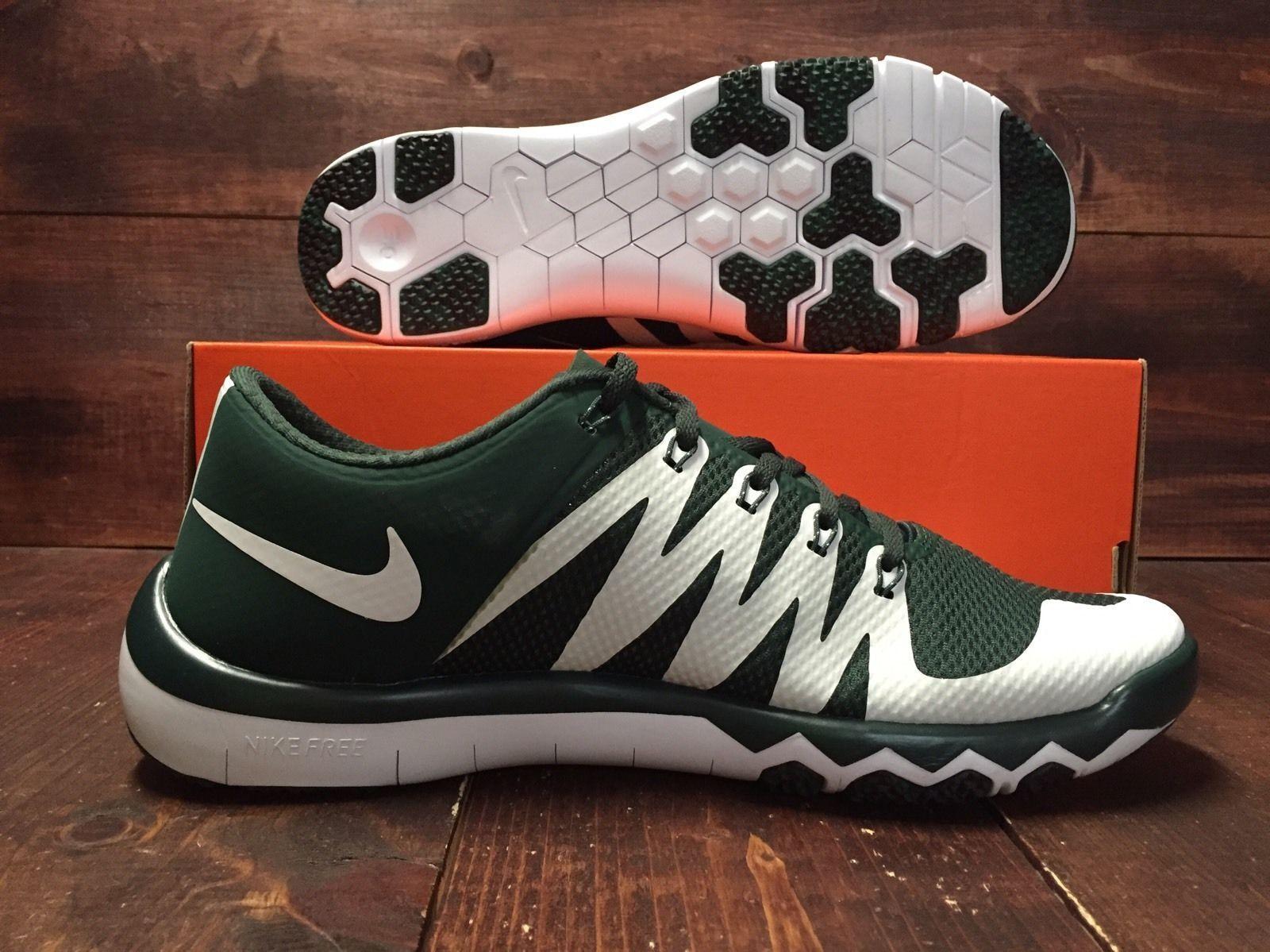 Nike Free Trainer 5.0 V6 AMP Michigan State Spartans MSU - Comfortable Casual wild