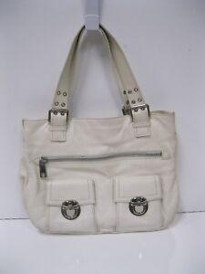 6d80b78201 Image is loading MARC-JACOBS-STELLA-Ivory-Leather-Handbag-Shoulder-Bag-