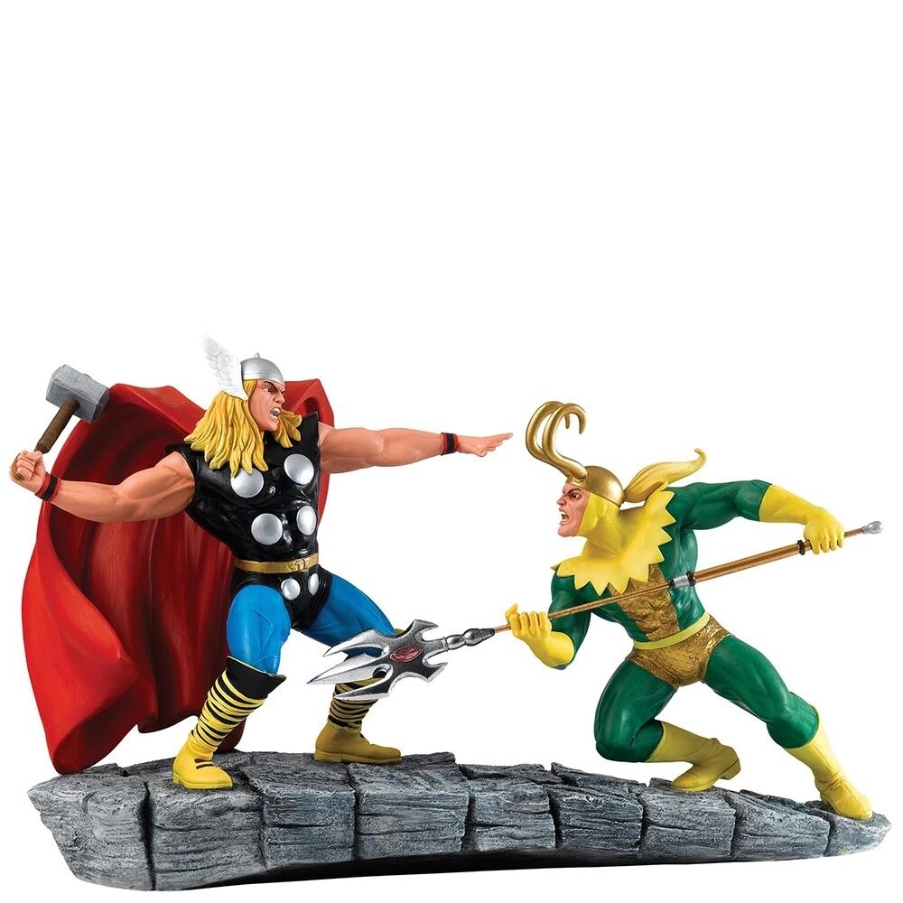 Marvel  Collection Thor vs Loki Figurine Ornament 28cm A27607