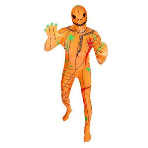 Pumpkin Premium Original Morphsuit Adult Costume Ships From USA MPPU