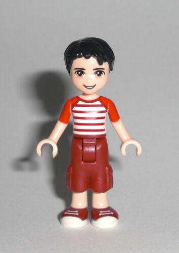 Nate LEGO Friends Figur Minifig Heartlake Park Boy Bub Junge Teenager 41129