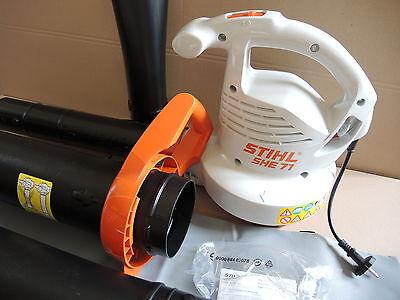 Stihl SHE 71 SHE71 Elektro Blasgerät Saughäcksler mit Fangsack  NEU