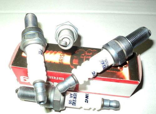 750,1000,CR9E 5HP,GSX-R400,DR350-S-R 350►► ►4X BRISK AR10S Spark Plugs GSX 600