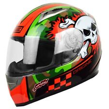 Casco Helmet Integrale ORIGINE TONALE COMBAT Nero Verde Rosso Black Green Red