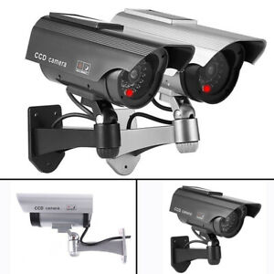 Solar-Powers-Dummy-Fake-Security-RED-LED-CCTV-CCD-Camera-Surveillance-Varities