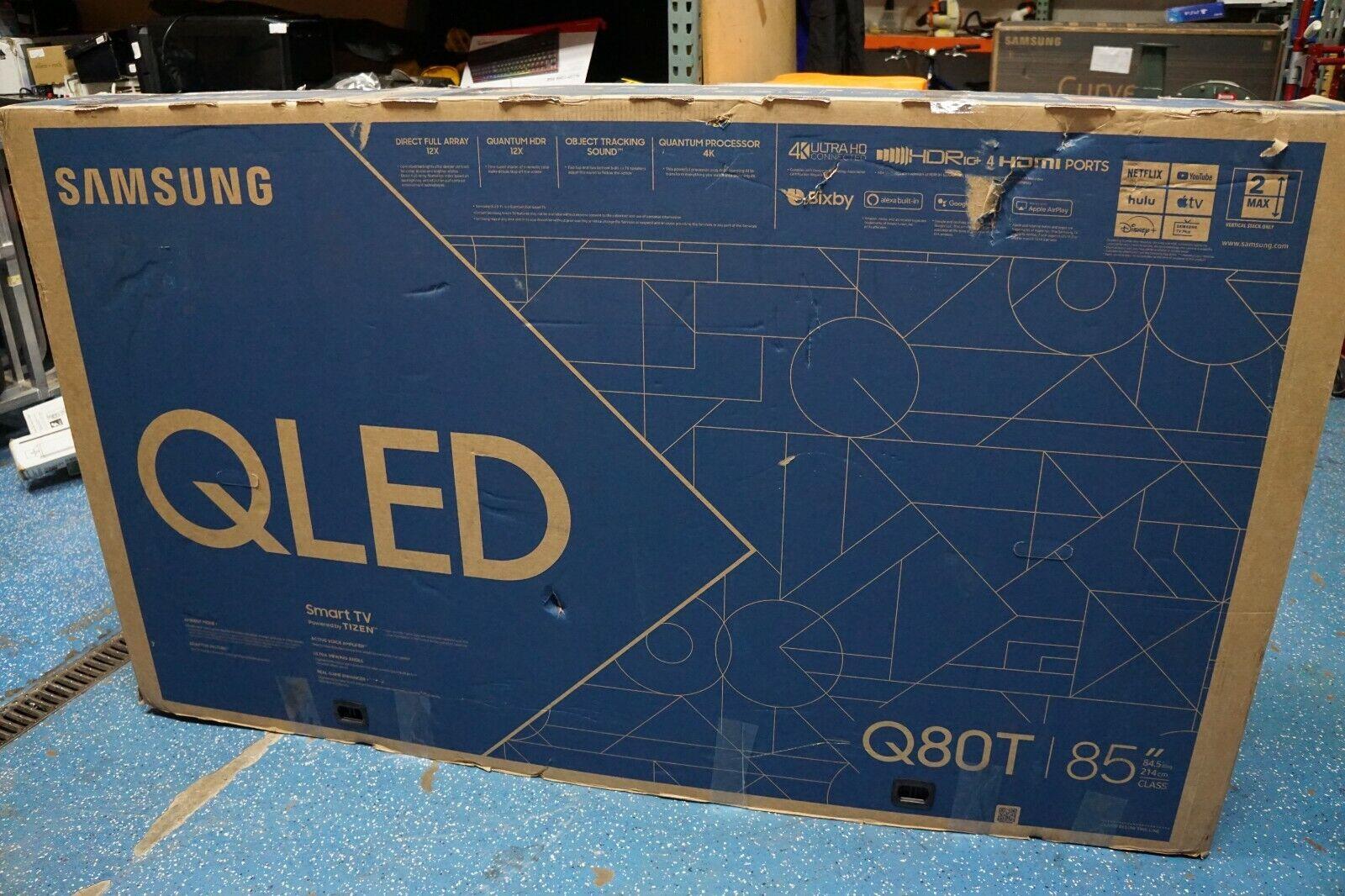 Open box Samsung QN85Q80TAFXZA 85
