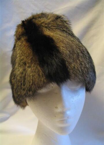VINTAGE BEST & CO FIFTH AVE NEW YORK ~ RACOON HAT