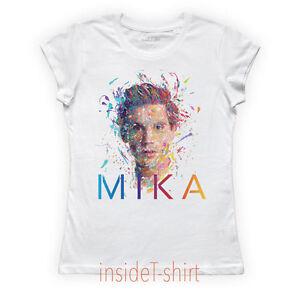 Caricamento dell immagine in corso MAGLIETTA-MIKA-maglia -donna-Songbook-Vol-1-cover- f890b4f2c1b