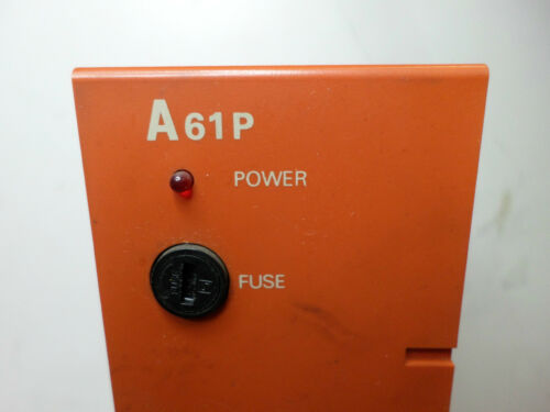 Qty Avail MITSUBISHI MELSEC 100//200AC Input A61P POWER SUPPLY MODULE