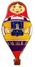 "BALLON ""SPECIAL SHAPE"" Pin / Pins - MATRYOSCHKA / MATROSCHKA RA-0336G [3391]"