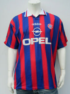 Details zu ADIDAS BAYERN MÜNCHEN PAPIN 9 [ GR. XL ] UEFA CUP 1996 Sieger Trikot + Short (4)