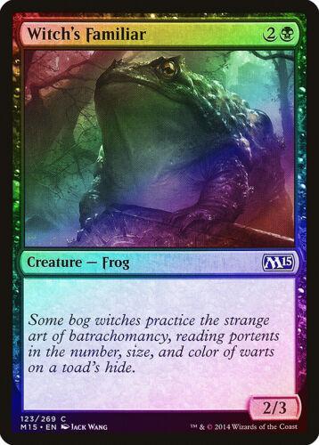 Witch/'s Familiar FOIL Magic 2015 M15 NM Black Common MAGIC MTG CARD ABUGames