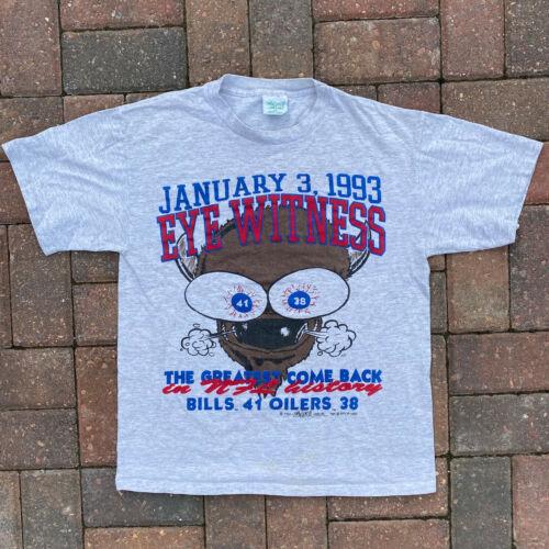 Vintage Buffalo Bills Cartoon Greatest Comeback Me