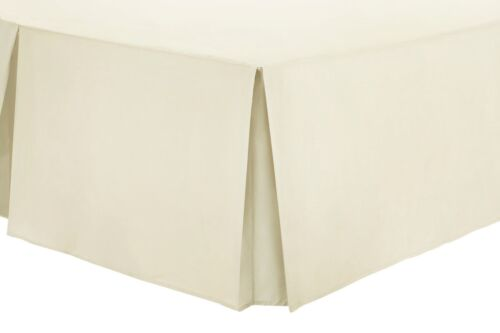 Egyptian Cotton 200 TC Pleated Boxed Base Valance Sheets Bed Skirt Bed Sheet Set