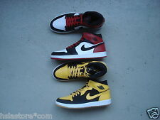 Nike Air Jordan I/1 Retro 46 Old Love New Love BMP 2007 Thunder/Black Toe
