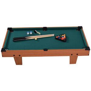 36 mini table top pool table game billiard set cues balls gift indoor sports. Black Bedroom Furniture Sets. Home Design Ideas