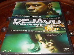 cofanetto-DVD-Nuovo-sigillato-film-Dejavu-Corsa-contro-il-tempo-Denzel-Washingto