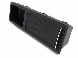 Bmw e46 center console tray storage insert cover black ebay - Console centrale bmw e46 ...