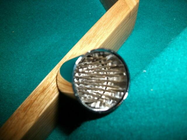 Joe Porper Shaper Tacker Tapper Tip Tool Pool Billiard Cue Accessory